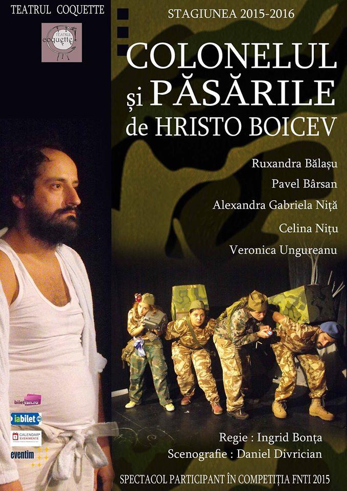 Colonelul si pasarile - Cronica de teatru