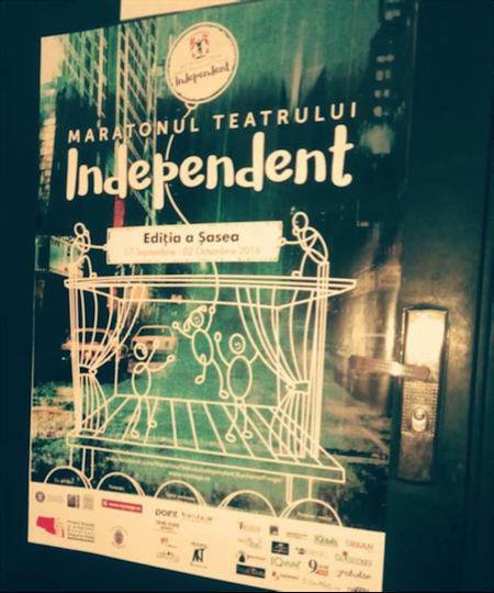 Spectacolul Cafeneaua la Maratonul Teatrului Independent Bucharest Fringe 2016