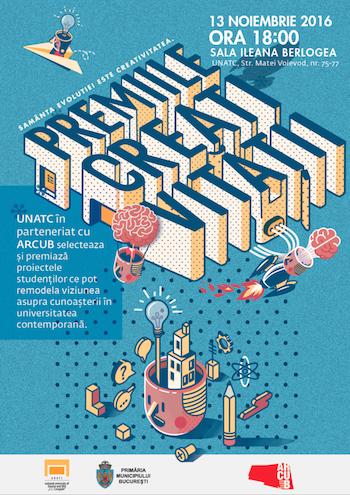 Premiile Creativitatii ARCUB UNATC 2016