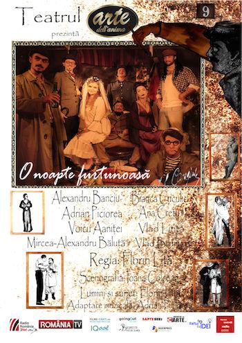 Spectacole Arte Dell'Anima 15 si 16 decembrie