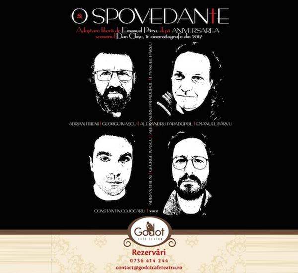 Cronica de teatru O spovedanie, spectacol Godot