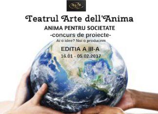 ANIMA PENTRU SOCIETATE 3 - CONCURS DE PROIECTE ARTE DELL' ANIMA