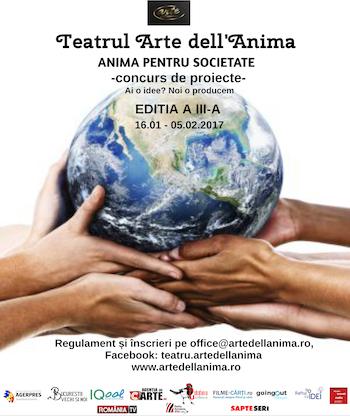 ANIMA PENTRU SOCIETATE 3 - CONCURS DE PROIECTE ARTE DELL? ANIMA