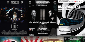 Program spectacole Teatrul Evreiesc de Stat 14 - 29 ianuarie