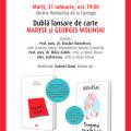 Dubla lansare de carte Maryse si Georges Wolinski