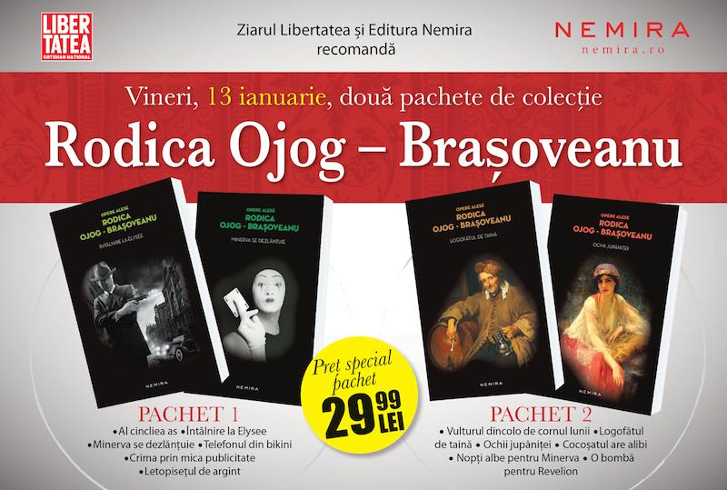 Rodica Ojog-Brasoveanu ? pachete de colectie impreuna cu Libertatea