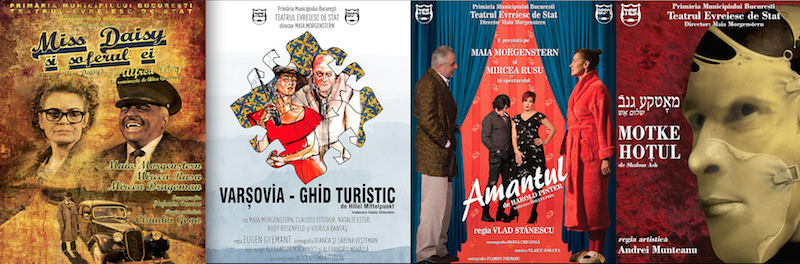 Program spectacole Teatrul Evreiesc de Stat 1 - 15 februarie