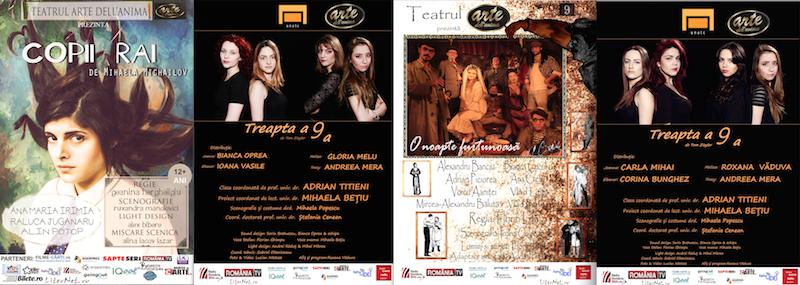 Program luna martie - Teatrul Arte dell'Anima