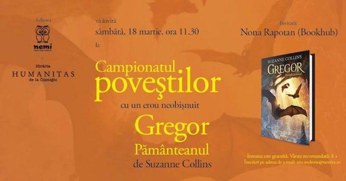 Campionatul povestilor cu Gregor Pamanteanul