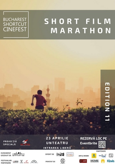 Bucharest ShortCut Cinefest Short Film Marathon editia a XI-a