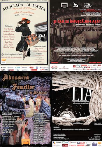 Program spectacole UNATC 11-30 aprilie