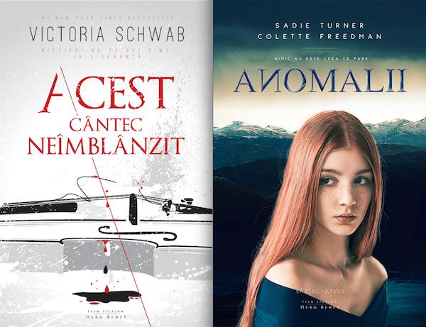 Primele traduceri ale editurii Herg Benet
