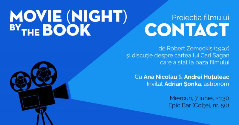 Movie Night by the Book - proiectie de film in aer liber