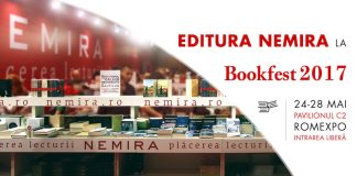 Editura Nemira la Bookfest 2017