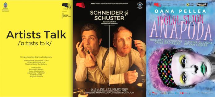 Agenda spectacole de teatru ARCUB 1-9 iunie