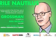 Scriitorul Lev Grossman la serile Nautilus