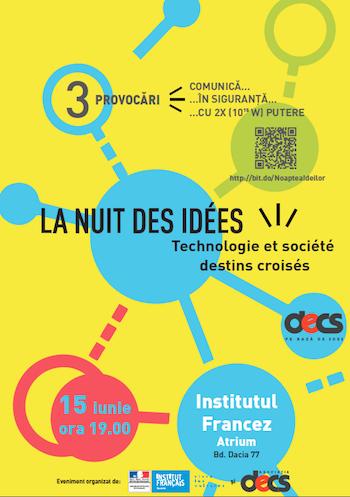 Noaptea Ideilor la Institutul Francez