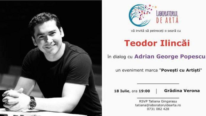 Teodor Ilincai in dialog cu Adrian George Popescu