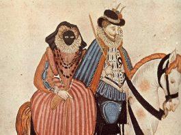 vizete in moda secolului 16