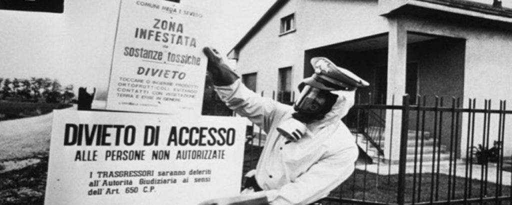 Explozia din Sevesco - dezastre ecologice