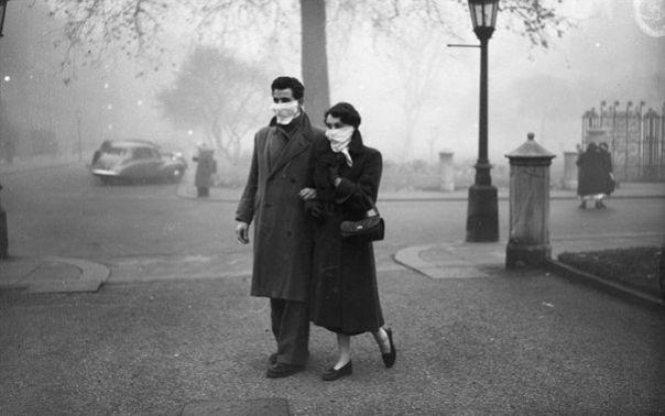 dezastre ecologice - smog in Londra