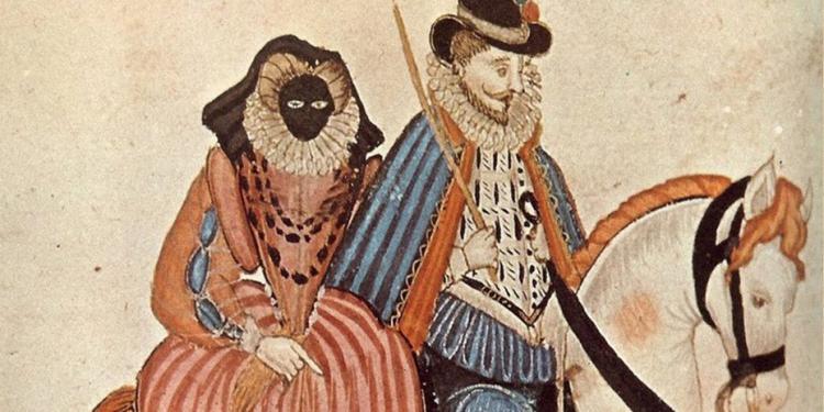 vizete in moda secolului XVI