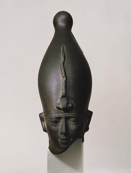 Capul zeului Osiris, zei egipteni, mitologie