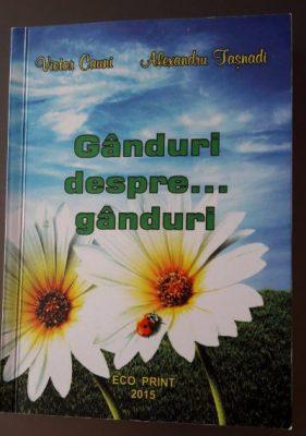 Ganduri despre... ganduri - Victor Cauni - recenzie de carte