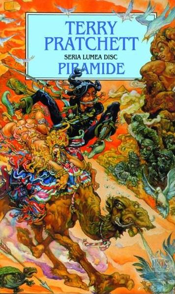 Piramide - Terry Pratchett, recenzie de carte