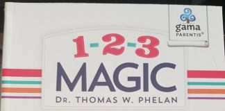 1-2-3 Magic carte parenting Gama