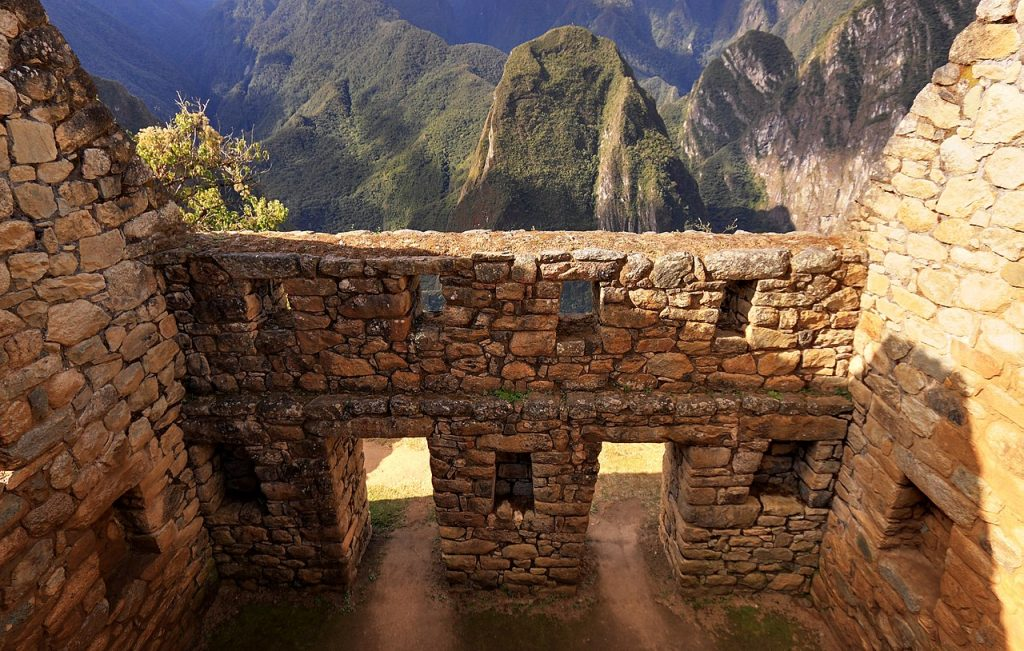 Machu Picchu ferestre cladire