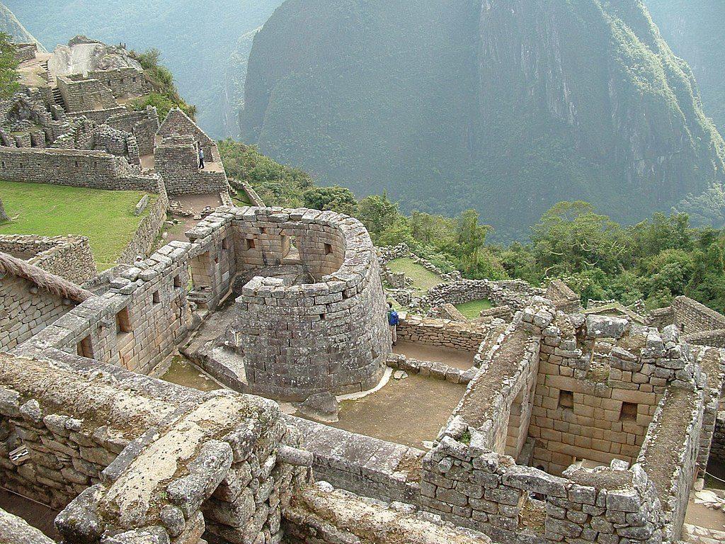 templus soarelui din Machu Picchu