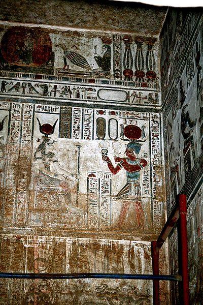 Hathor mitologie egipteana cultura generala educatie
