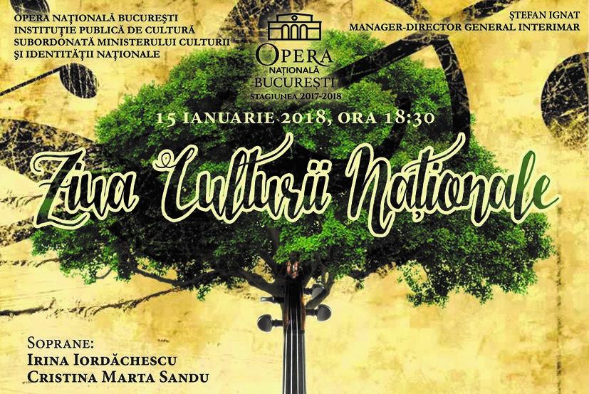 Concert extraordinar de opera ziua culturii