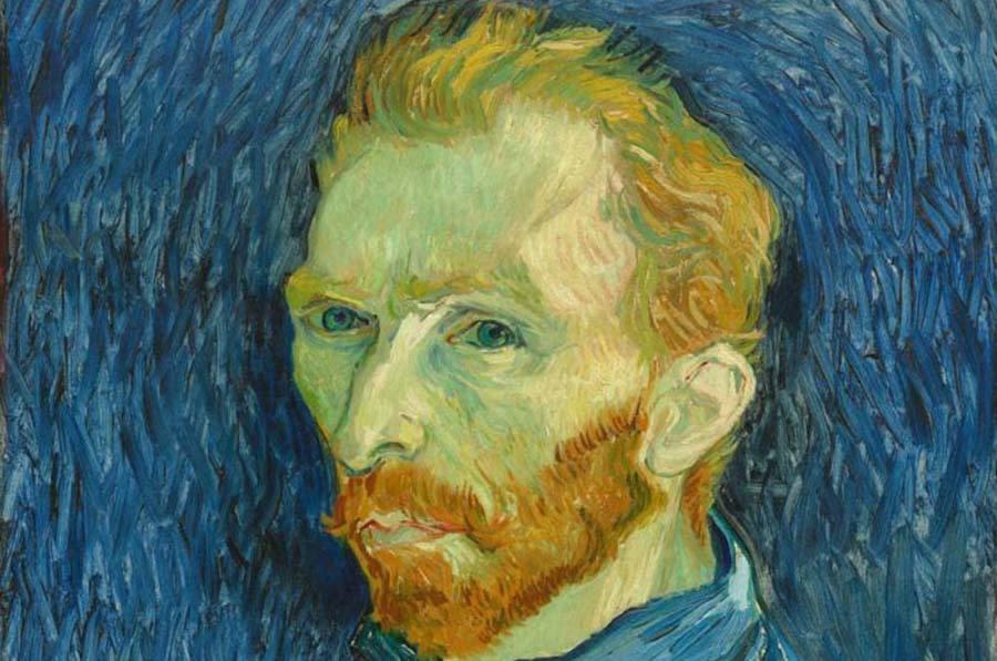 Autoportret Van Gogh - pictura Raftul cu idei