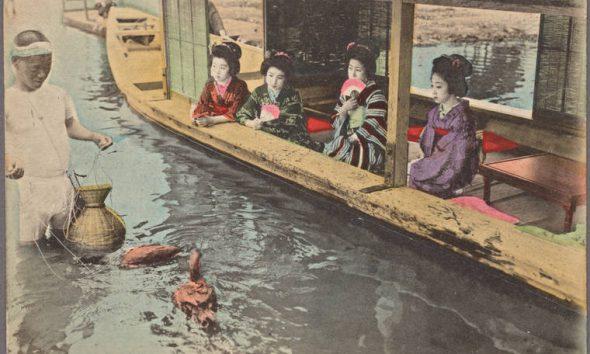 Gheisele japoneze - cultura japoneza - Raftul cu idei