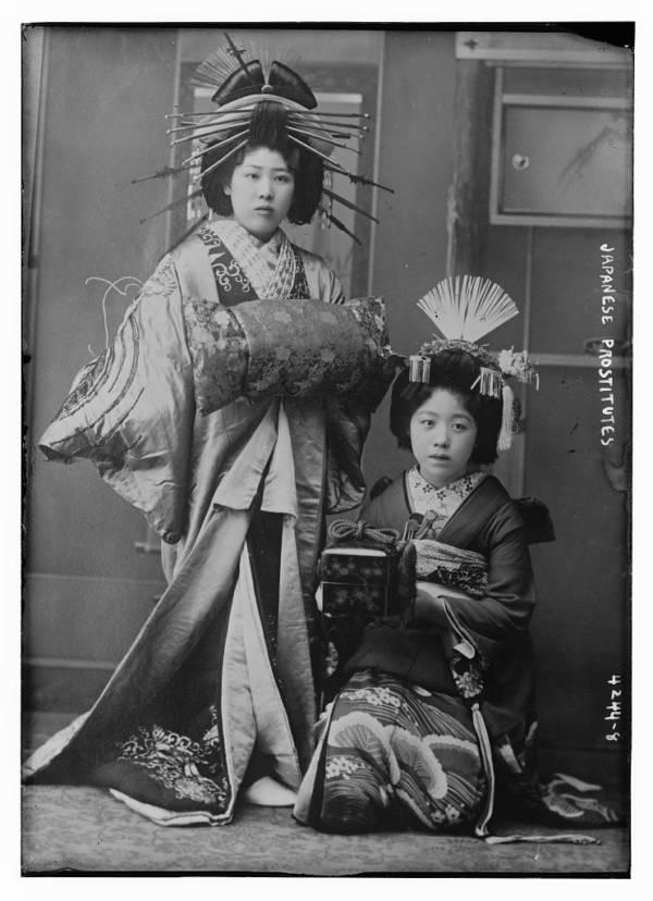 Oiran: curtezane japoneze