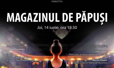 Opera balet spectacol pentru copii magazinul de papusi Raftul cu idei