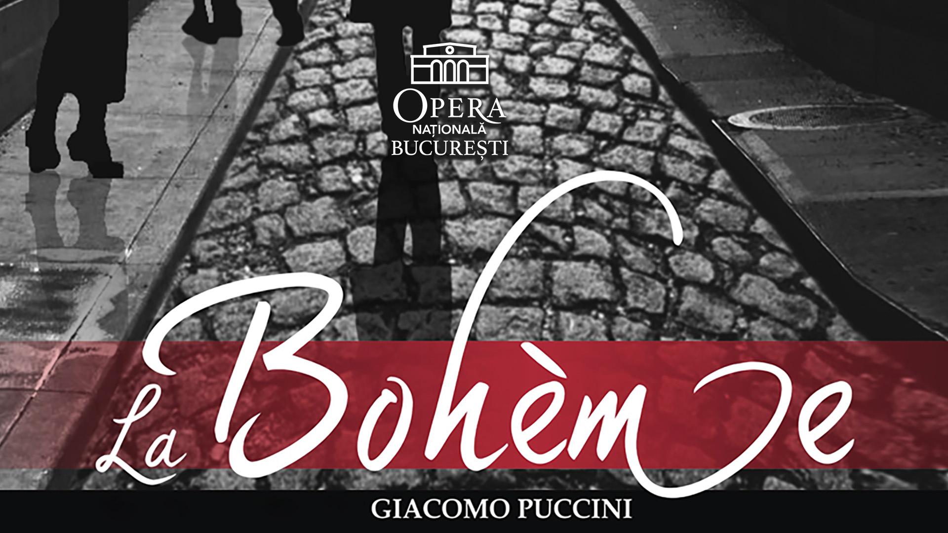 Puccini La Boh?me Raftul cu idei Opera Nationala Bucuresti