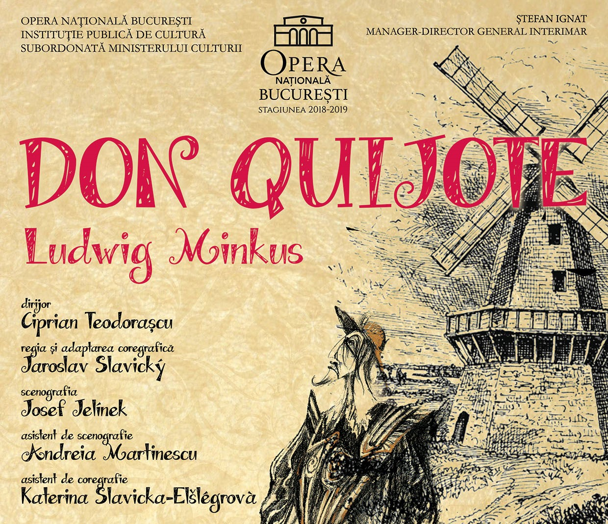 Don Quijote balet la Opera Nationala Bucuresti cultura
