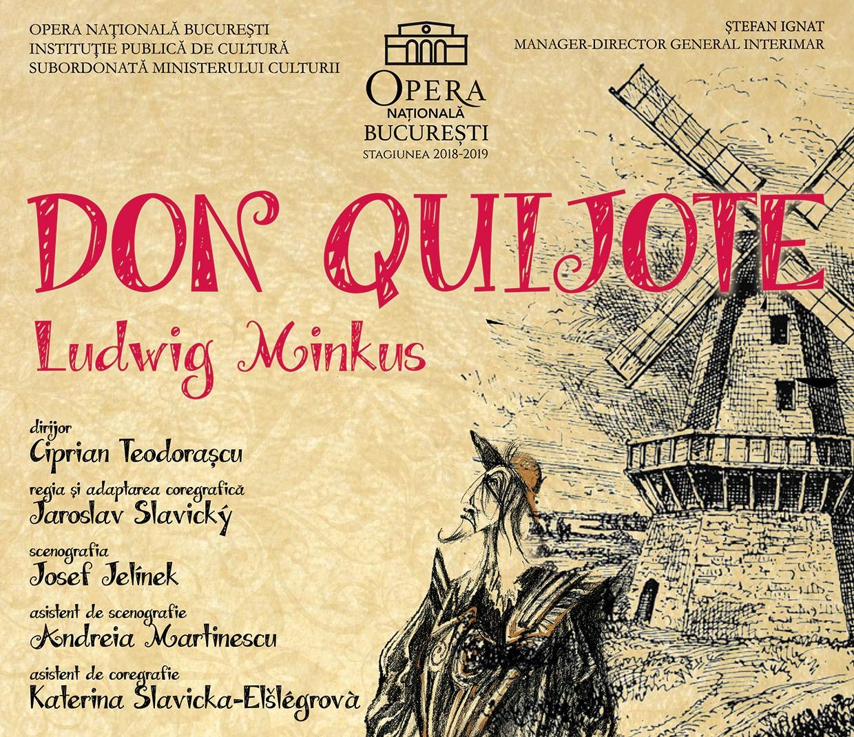 Don Quijote balet la Opera Nationala Bucuresti cultura