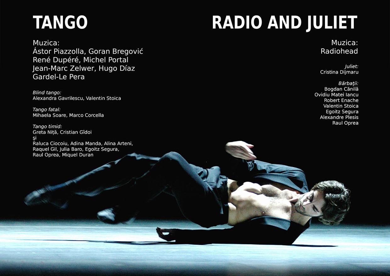 ango. Romeo & Juliet Raftul cu idei balet cultura