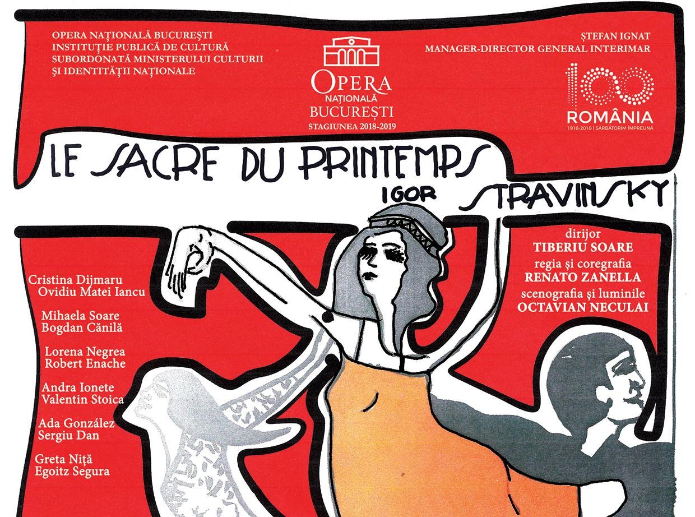 Le Sacre du Printemps Raftul cu idei balet opera ONB