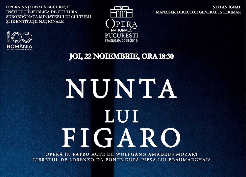Mozart Nunta lui Figaro evenimente culturale Raftul cu idei