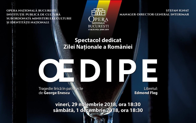 Oedipe Enescu opera Raftul cu idei cultural