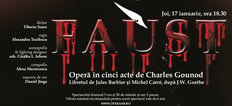 Raftul cu idei opera Faust ONB