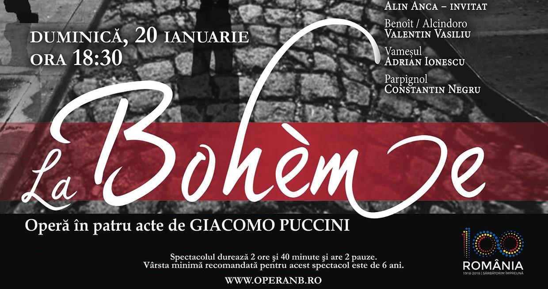 Raftul cu idei opera La Bohème Puccini