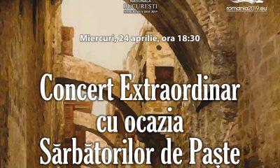 Raftul cu idei concert Paste Opera Nationala Bucuresti