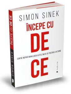 Incepe cu DE CE recenzie de carte Simon Sinek
