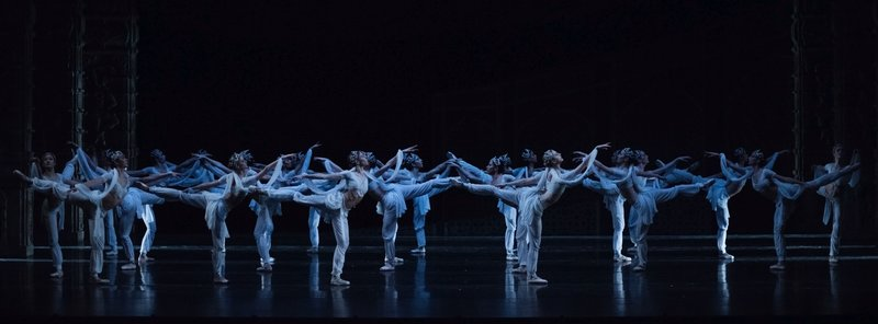 Raftul cu idei Baiadera balet Opera Nationala Bucuresti